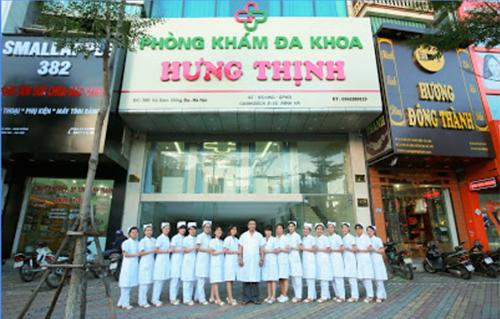 Phòng khám đa khoa Hưng Thịnh, địa chỉ khám bệnh lậu uy tín