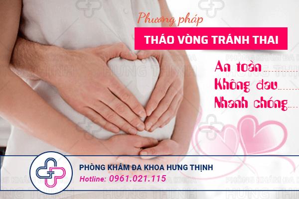Địa chỉ tháo vòng tránh thai uy tín tại Hà Nội